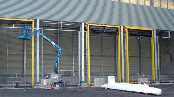 Installation portes souples