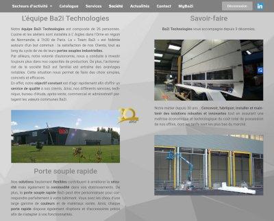 Site internet Ba2i